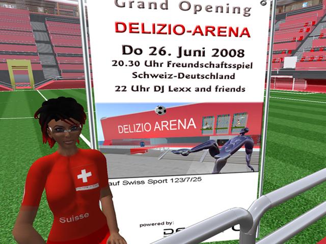 Eröffnung der Delizio-Arena